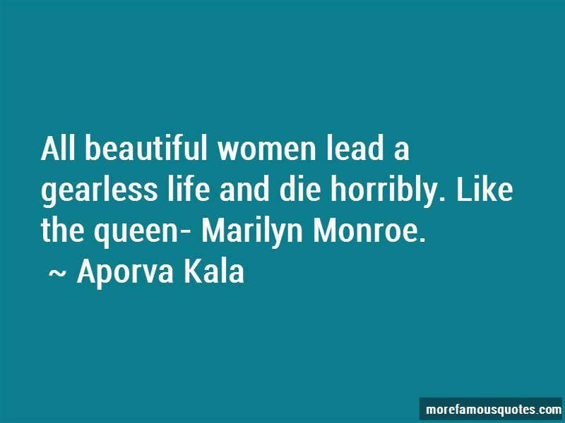 Marilyn Monroe Life Quotes