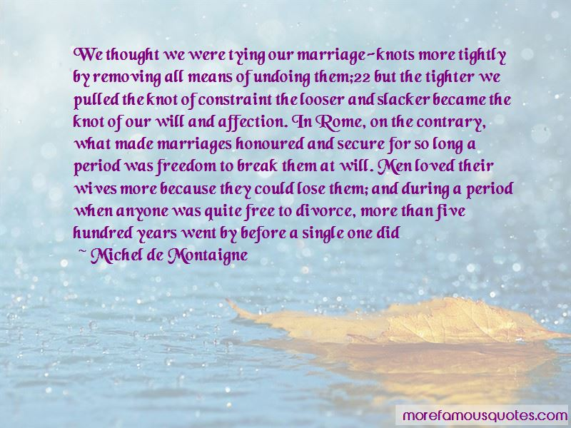 Marriage Knots Quotes