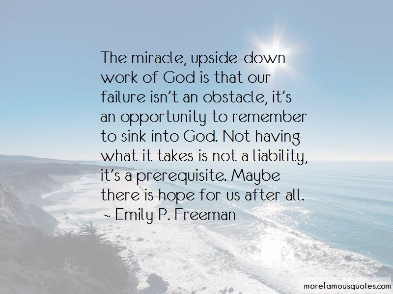 Maybe A Miracle Quotes