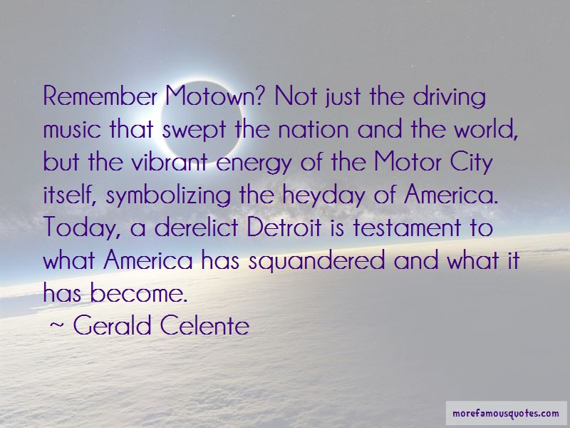 Motor City Quotes Pictures 2