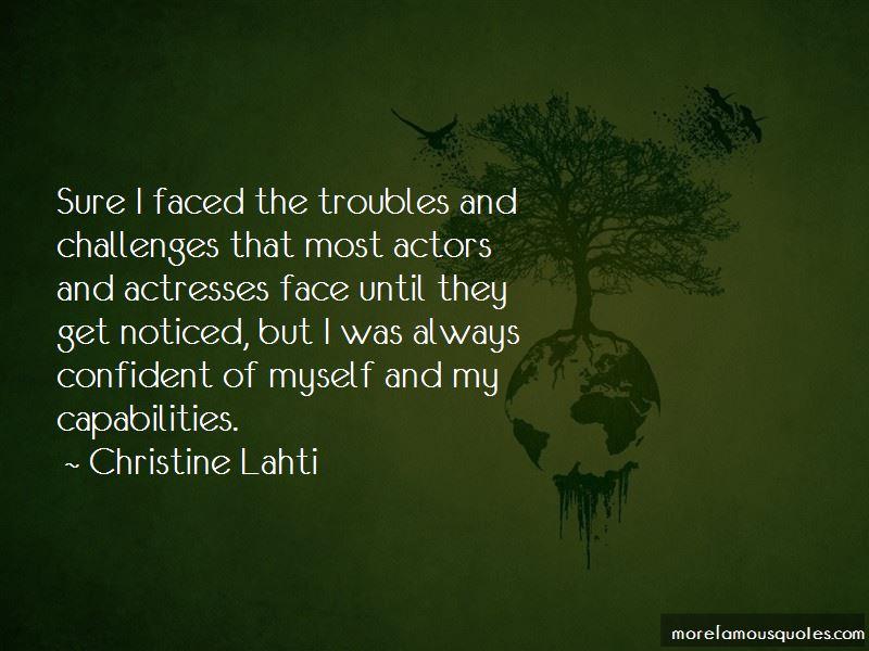 My Capabilities Quotes