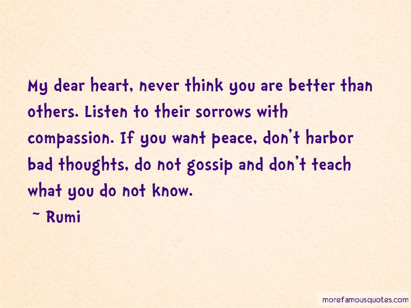 My Dear Heart Quotes