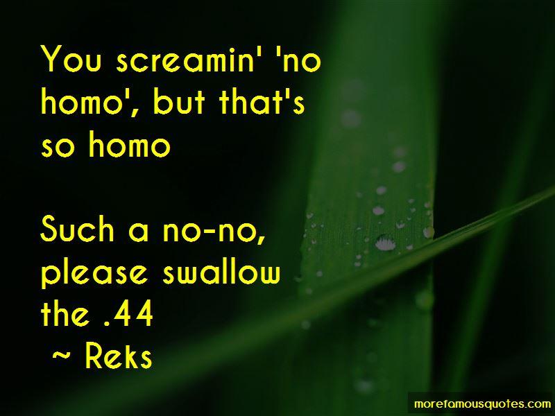 No Homo Quotes