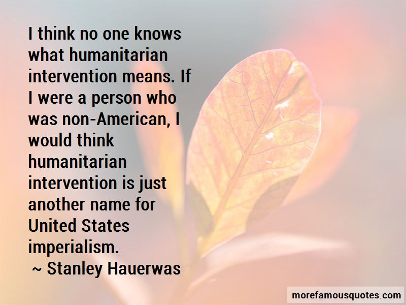 Non Intervention Quotes Pictures 3
