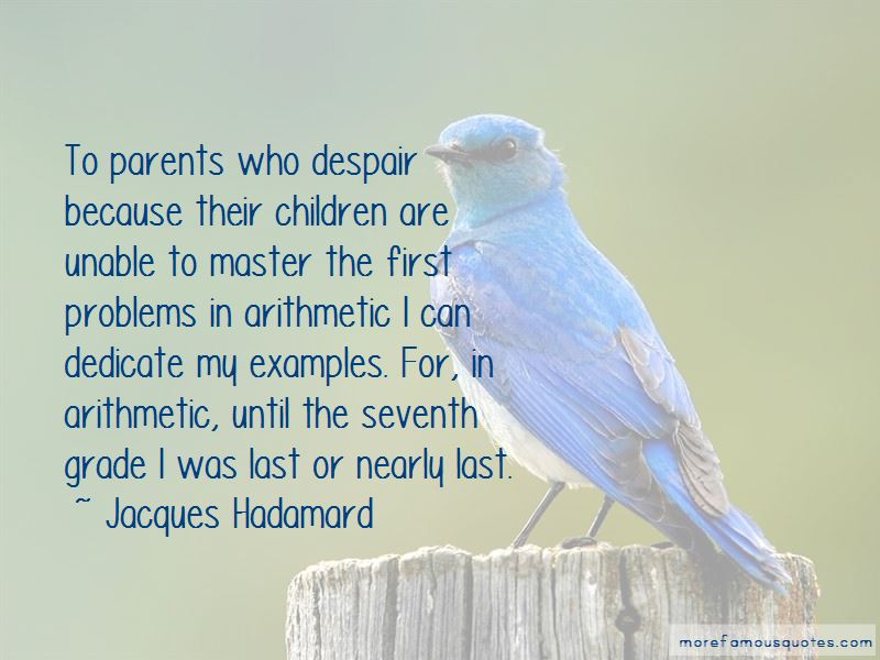 Parents Examples Quotes