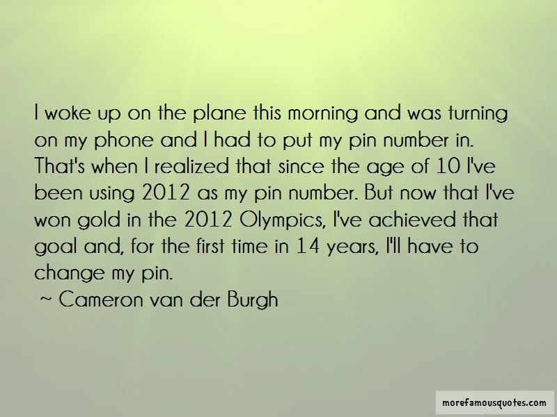 Quotes About 2012 Olympics