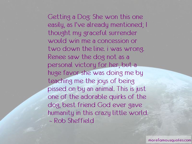 Quotes About A Dog Being A Best Friend