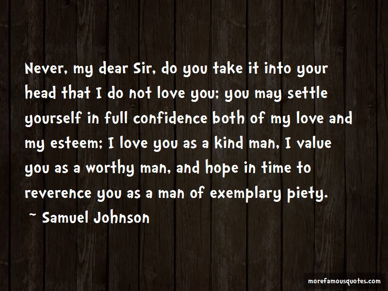 Quotes About A Worthy Man
