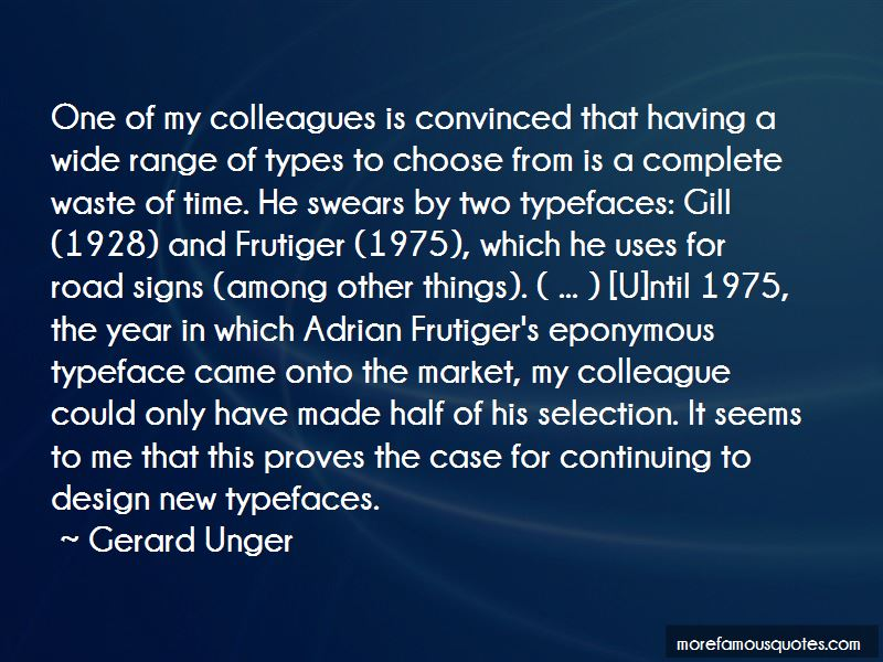 Quotes About Adrian Frutiger