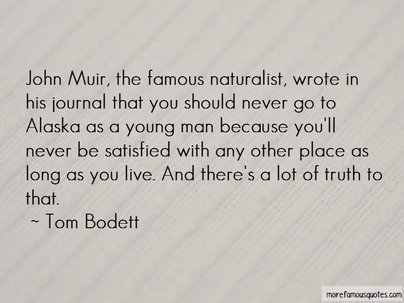 Quotes About Alaska John Muir
