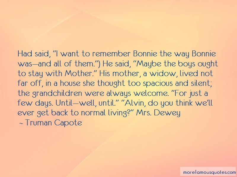 Quotes About Alvin Dewey