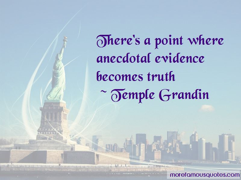 Anecdotal Evidence Quotes Pictures 3