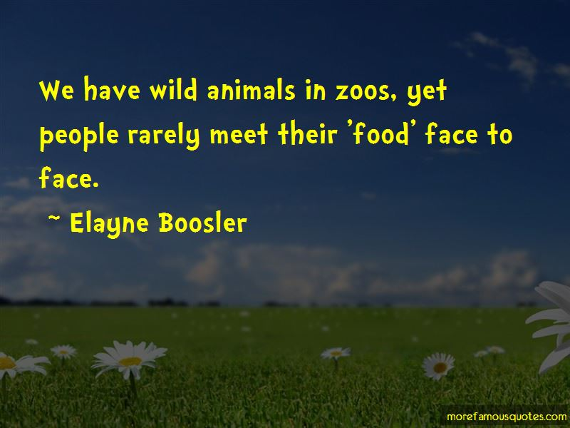 Quotes About Animals In Zoos