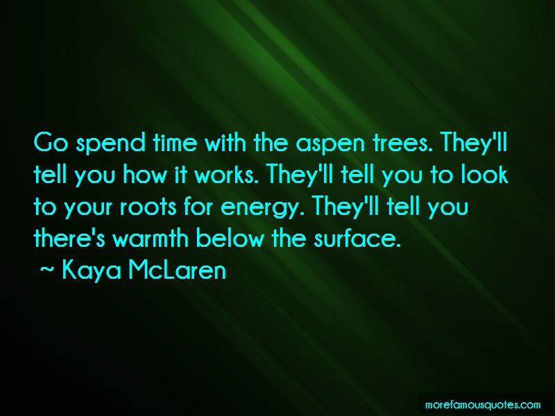 Quotes About Aspen Trees