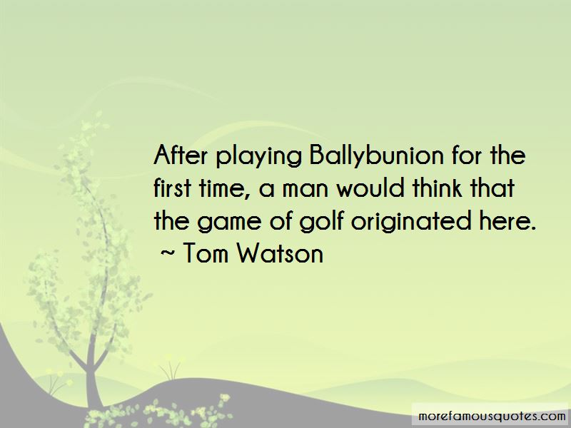 Quotes About Ballybunion