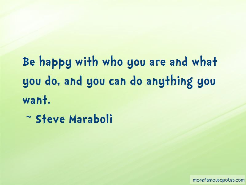 Be Happy With Who You Are Quotes Pictures 4