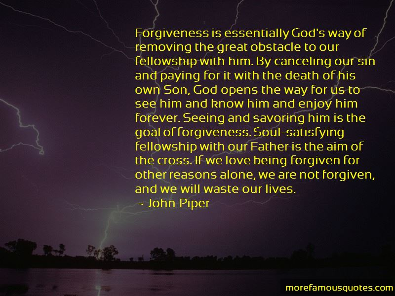 Quotes About Being Forgiven By God