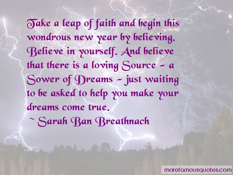 Quotes About Believing In Yourself And Your Dreams