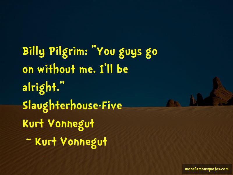 the story of billy pilgrims life in kurt vonneguts slaughterhouse five