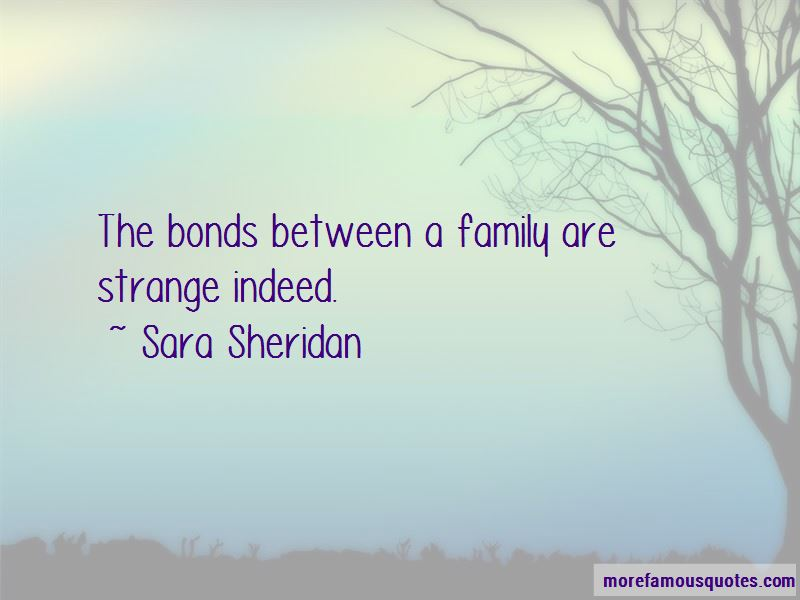 Quotes About Bonds Between Family