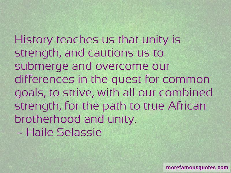 Quotes About Brotherhood And Unity