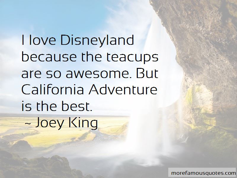 Quotes About California Adventure