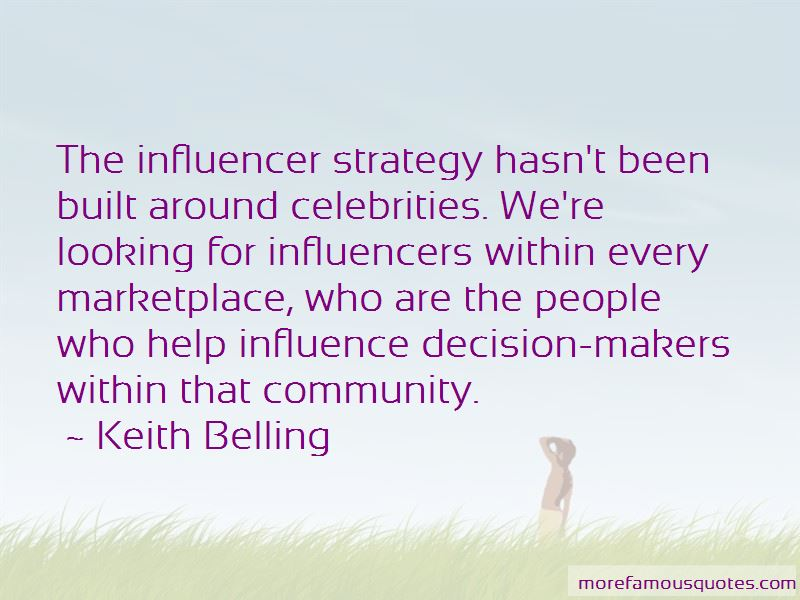 Quotes About Celebrities Influence