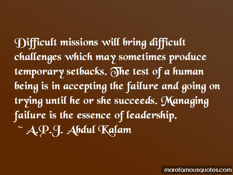 Quotes About Challenges In Leadership