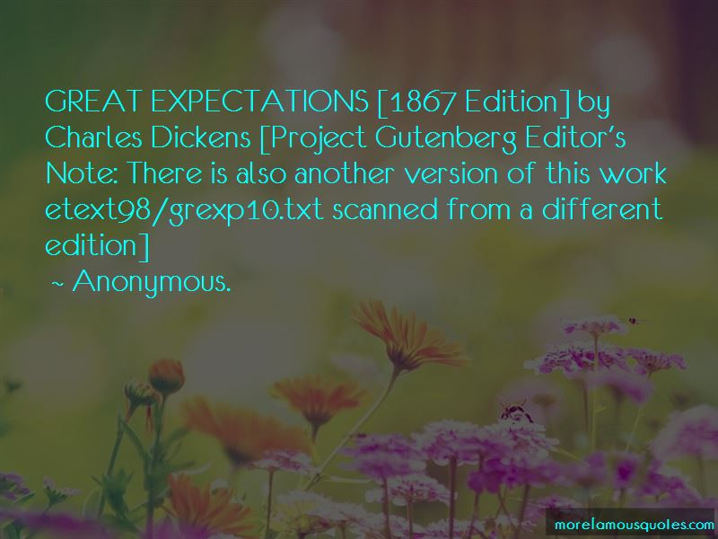 Charles Dickens Great Expectations Quotes Pictures 2