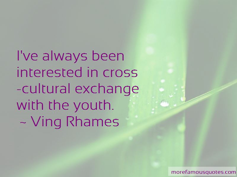 Cultural Exchange Quotes Pictures 4