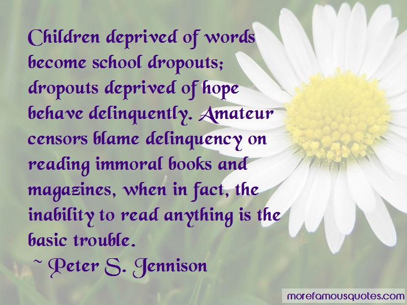 Delinquency Quotes Pictures 2