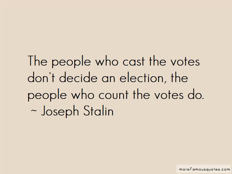 Quotes About Election Votes