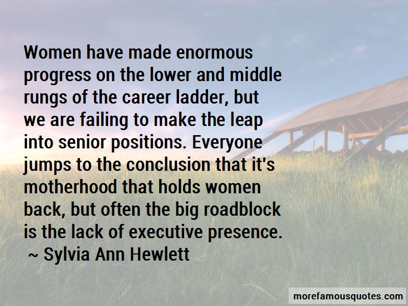 Quotes About Executive Presence
