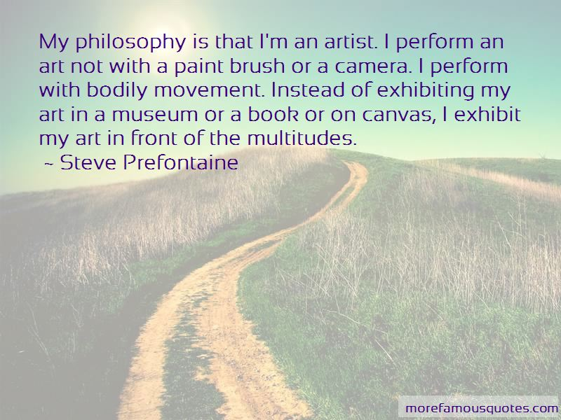 Quotes About Exhibiting Art