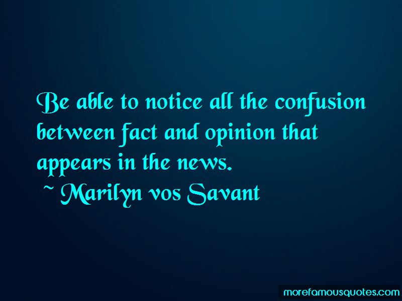 Quotes About Fact And Opinion