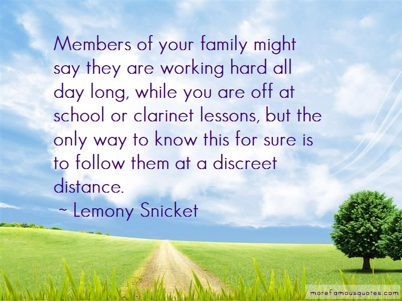 Quotes About Family And Long Distance