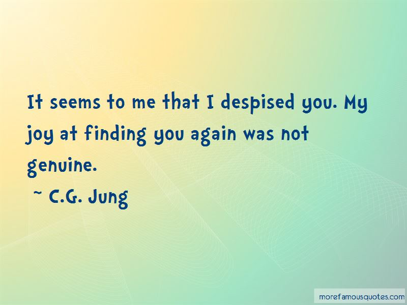 Quotes About Finding You Again
