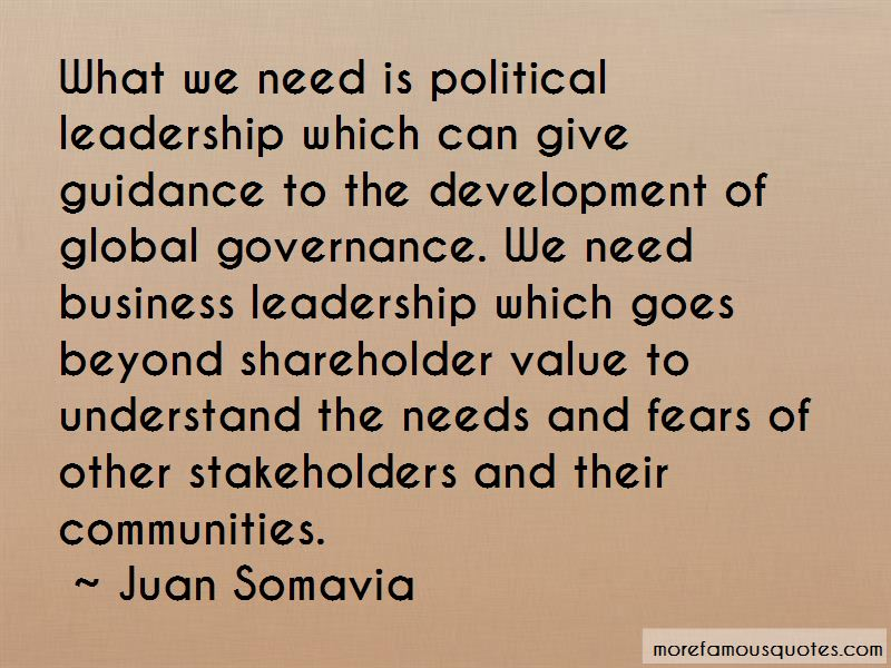 Quotes About Global Governance