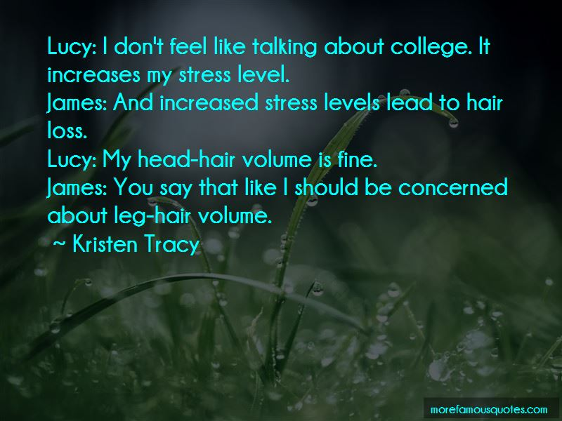 Quotes About Hair Loss