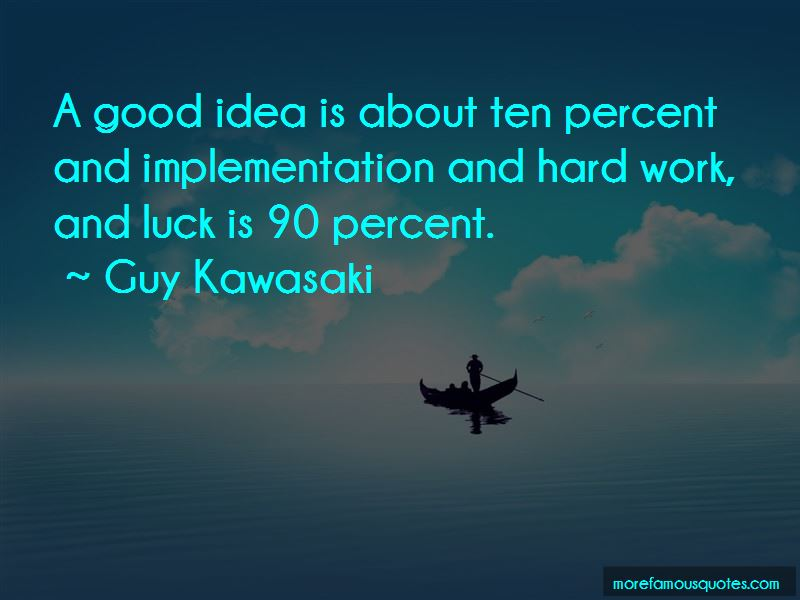 Quotes About Hard Work And Luck
