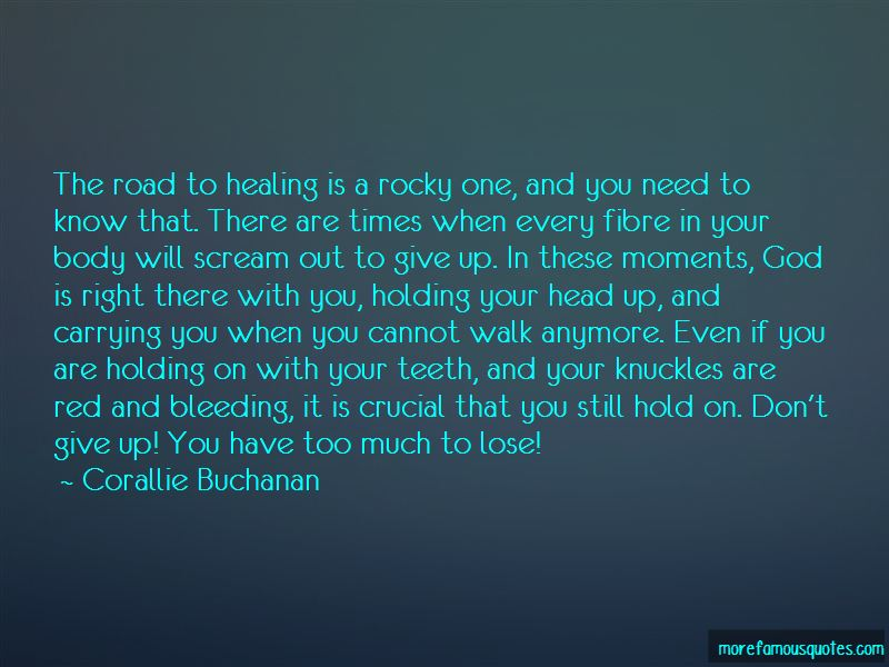 Quotes About Holding Your Head Up