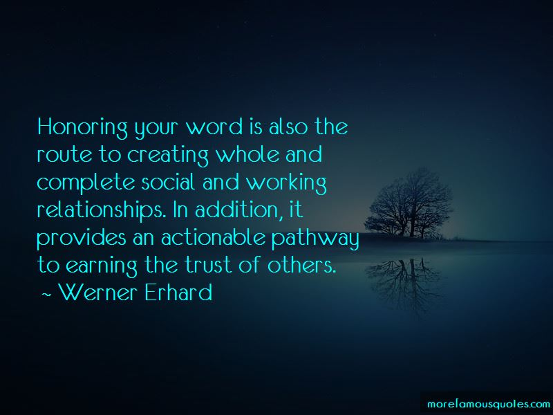 Honoring Your Word Quotes Pictures 2