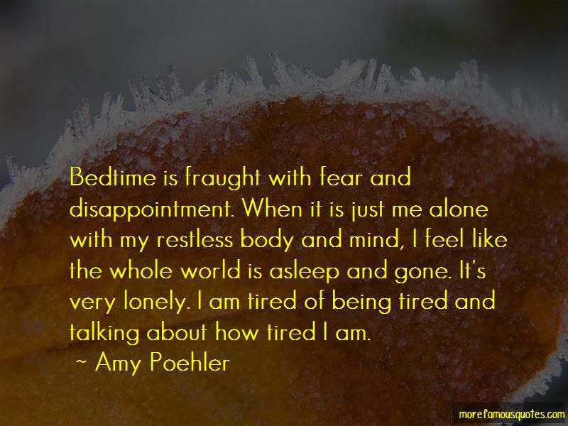 How Tired I Am Quotes Pictures 2