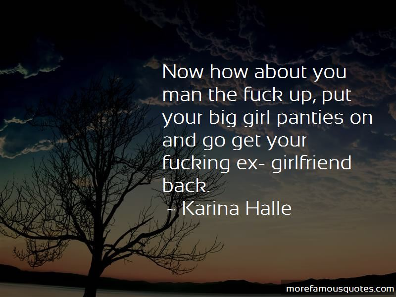 Quotes About How To Get Your Girlfriend Back