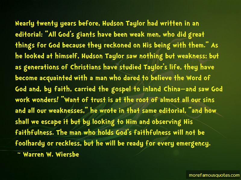 Quotes About Hudson Taylor