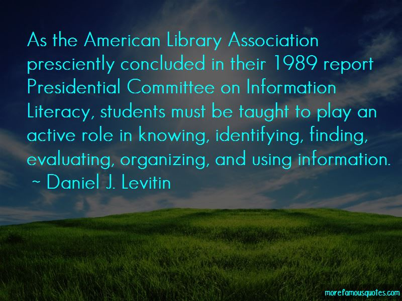 Quotes About Information Literacy