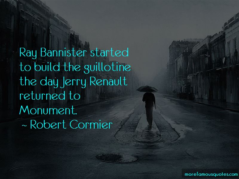 Quotes About Jerry Renault