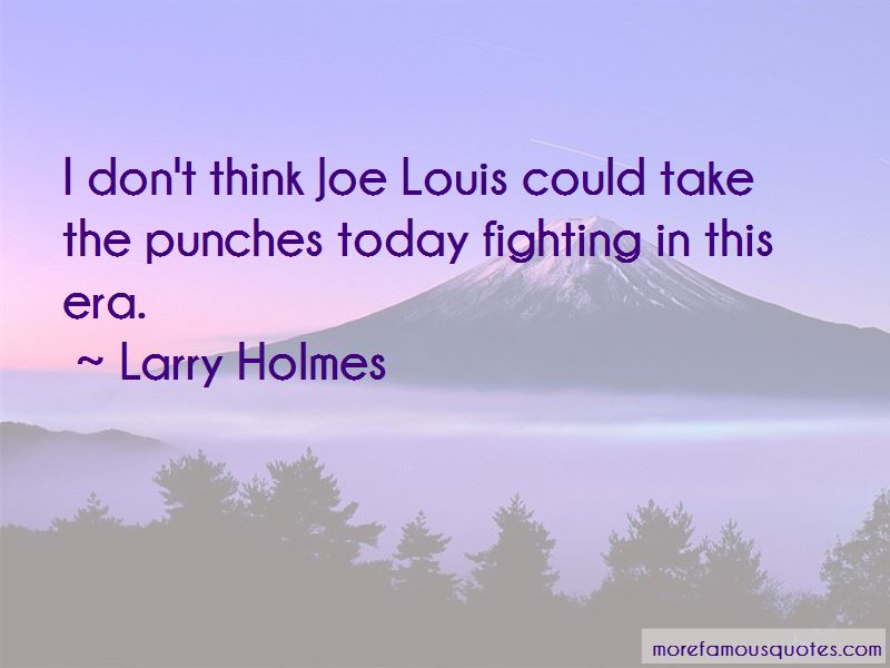 Quotes About Joe Louis