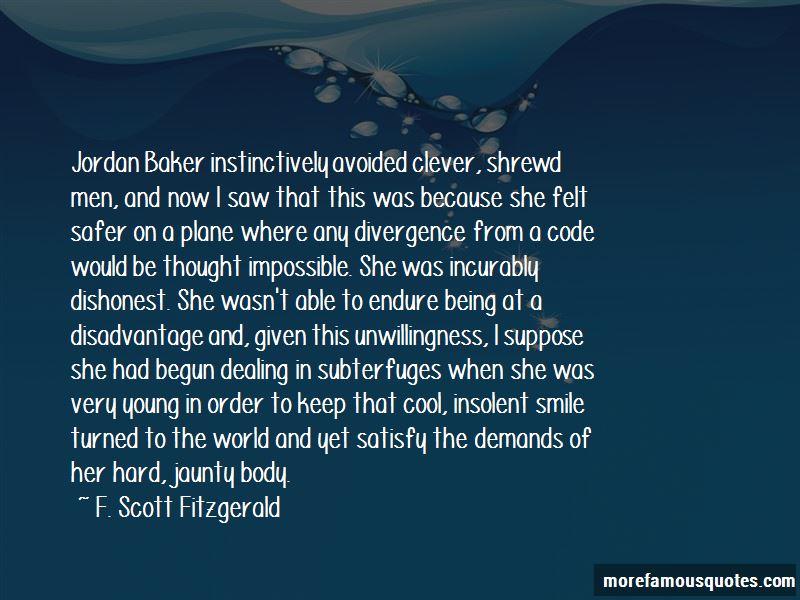 Quotes About Jordan Baker