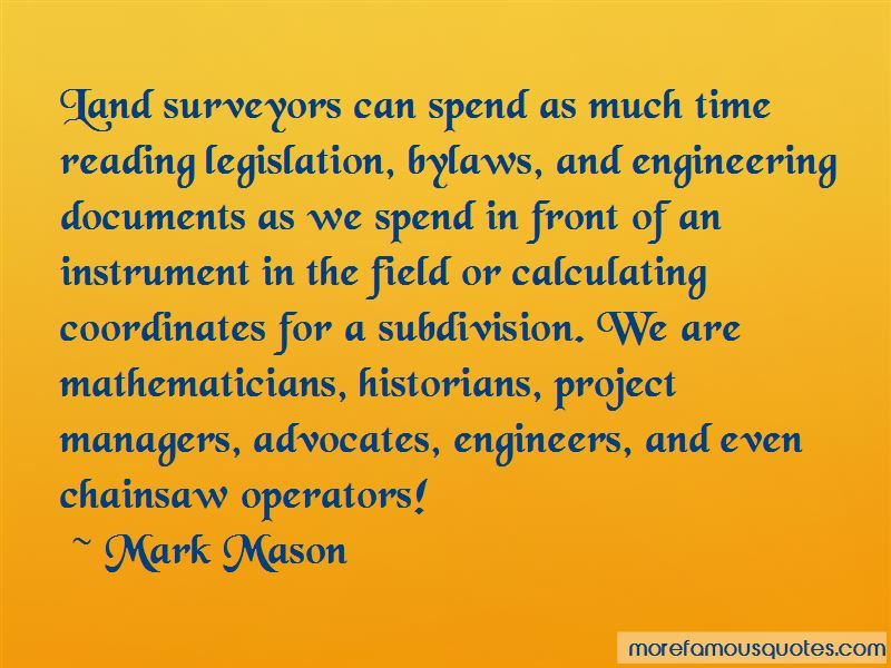 Quotes About Land Surveyors
